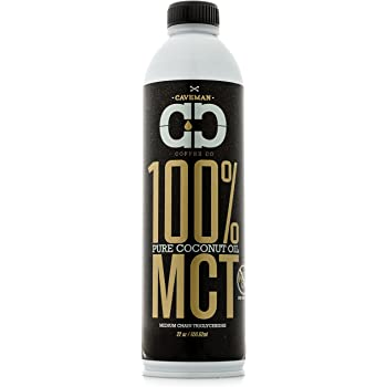 MCT Oil, Made from 100% Coconut Oil, Medium Chain Triglyceride, Caprylic (C8) & Capric (C10), Sustainably Sourced, Paleo & Keto Diet Friendly, 22 oz