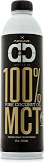 MCT Oil, Made from 100% Coconut Oil, Medium Chain Triglyceride, Caprylic (C8) & Capric (C10), Sustainably Sourced, Paleo &...