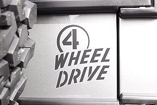 Mopar Jeep Wrangler Willys Wheeler 4 Wheel Drive Sticker Decal Emblem OEM