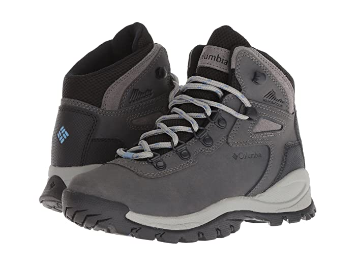 Columbia  Newton Ridge Plus (Quarry/Cool Wave) Womens Hiking Boots