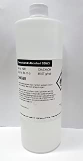 Denatured Alcohol Anhydrous High Purity 1000ml (32oz)