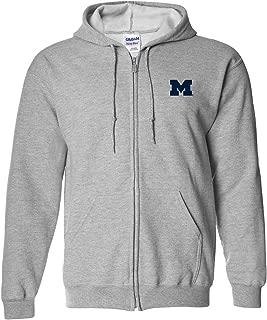 michigan zip up hoodie