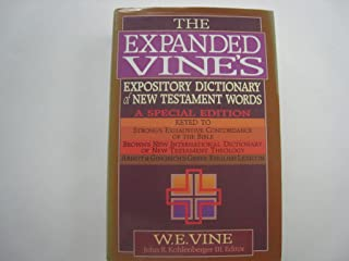 Expanded Vine's Expository Dictionary of New Testament Words
