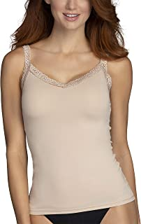 Vanity Fair Women's Perfect Lace Spincami Camisole 17166, Damask Neutral, Medium
