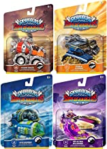 Overdrive Team Character Cars Super Chargers Dive Bomber / Thump Truck / Splatter Splasher / Shield Striker Game Vehicles Sky Landers Land & Sea 4-Pack Bundle