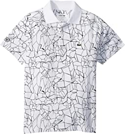 Short Sleeve All Over Print Djoko Polo (Little Kids/Big Kids)