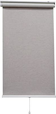 トーソー ロールスクリーン ミックスクリーム 180X200 遮光3級杢目・スプリング式 30005588
