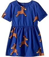 mini rodini - Donkey Woven Dress (Infant/Toddler/Little Kids/Big Kids)