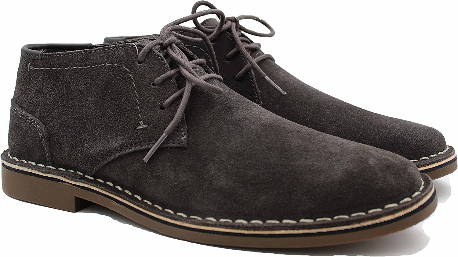 Kenneth Cole Mens Lace Up Chukka Boots