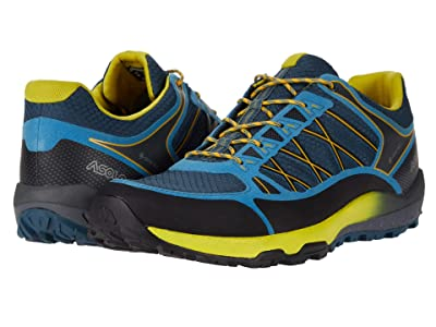 Asolo Grid GV MM (Indian Teal Yellow) Men