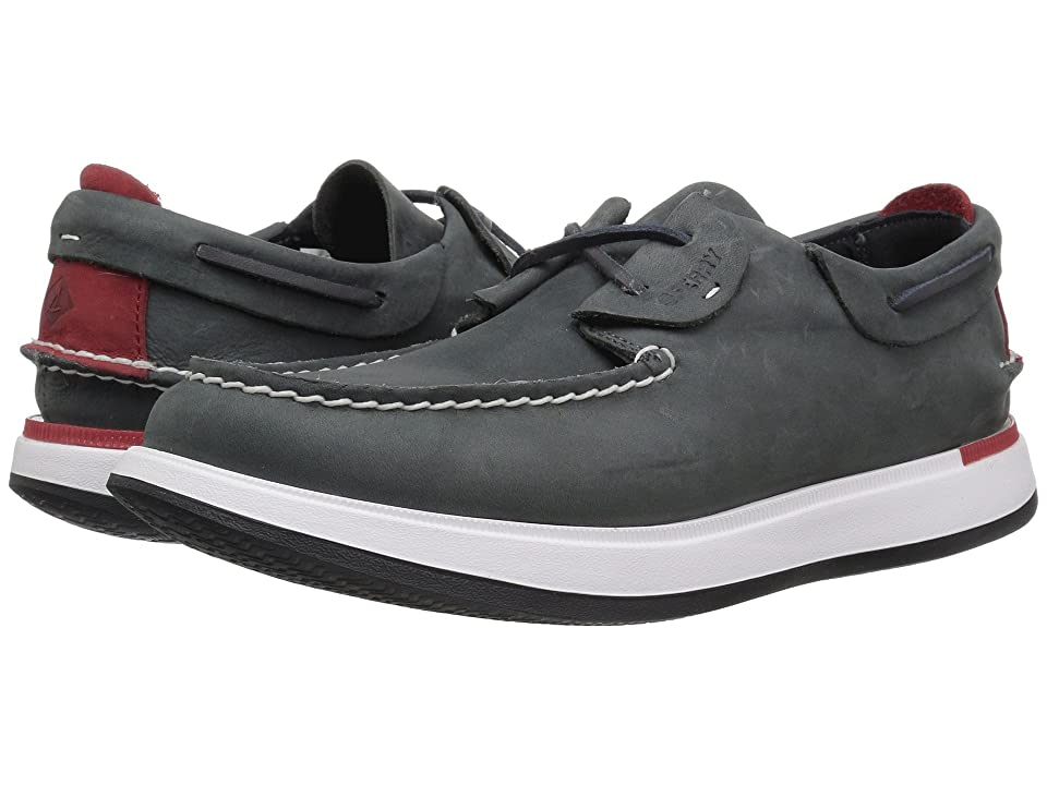 Sperry Caspian Boat Leather (Navy) Men