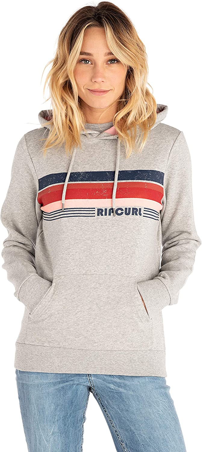 Rip Curl Jester Pullover Hoody in Cement Marle