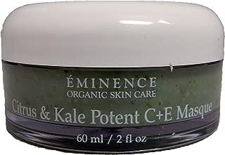 Eminence Organic Skincare Citrus & kale potent c + e masque 2oz, 2 Ounce