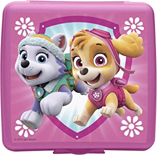 Zak Designs Paw Patrol Reusable Sandwich Container, Everest and Skye