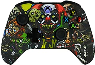 Xbox One Soft Touch Design Custom Gaming Controller -Soft Shell For Comfort Grip X - Microsoft Xbox 1 (Scary Party)