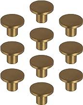 Gedotec Design meubelknop messing kastknop goud - Como | metalen deurknop rond | ladeknop Ø 26 mm | commode-knop keukenkas...
