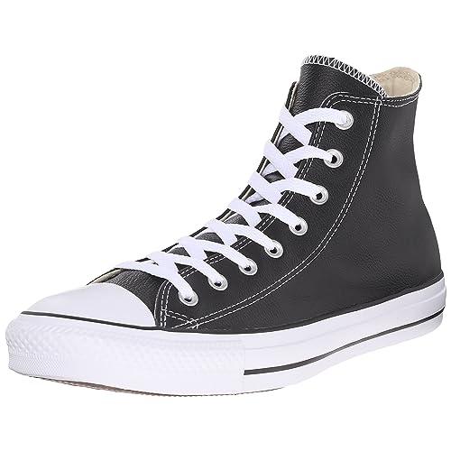 0e44b1b0215c Converse Women s Chuck Taylor All Star Leather High Top Sneaker