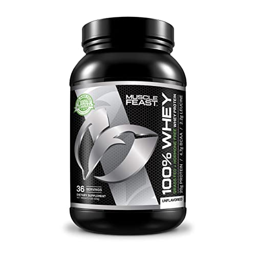 100% Whey Protein | Grass Fed & Hormone Free | Blend of Isolate, Concentrate
