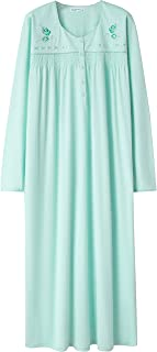 Nightgowns for Women, Soft 100% Cotton Warm Comfy...