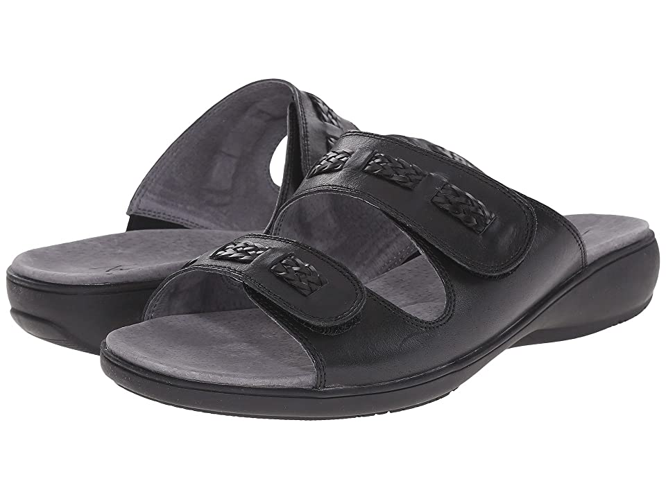 Trotters Kap (Black Vegetable Calf Leather) Women