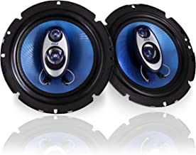 "6.5"" Three-Way Sound Speaker System – 180 W RMS/360W Power Handling w/ 4 Ohm.."