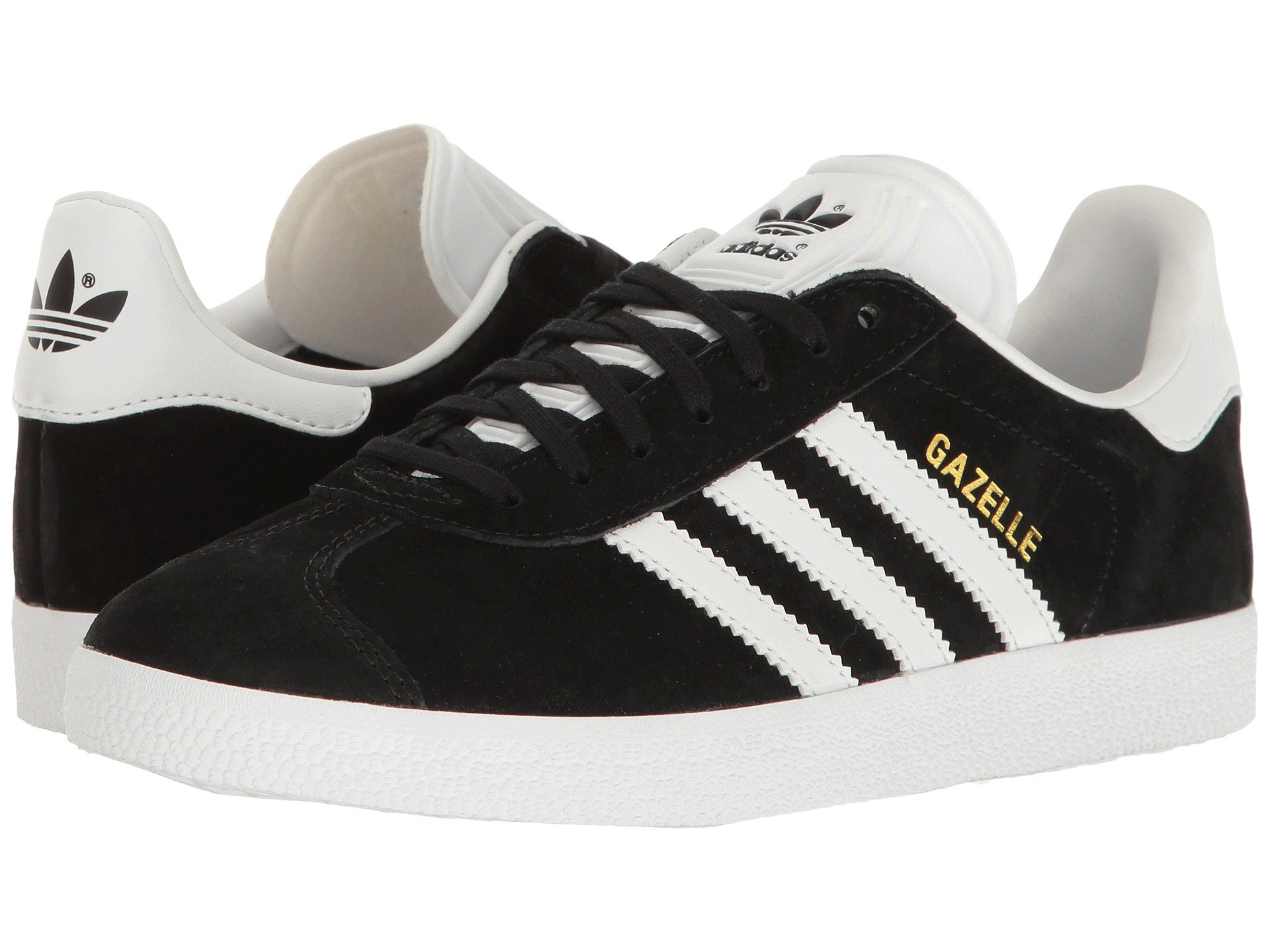 Women Originals Adidas Campus Running Shoes Black Brown Fashion