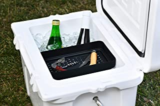 BEAST COOLER ACCESSORIES Dry Goods Tray Specifically Designed to Only Fit The YETI Roadie 20 Hard Cooler