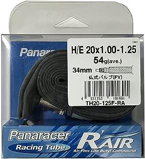 パナレーサー チューブ R'AIR [H/E 20x1.00~1.25] 仏式バルブ