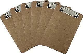 wooden menu clipboards