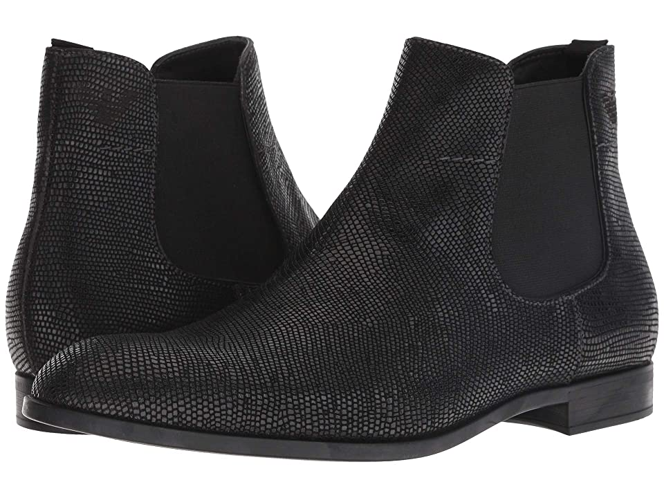 Emporio Armani Santiago Ankle Boot (Black) Men