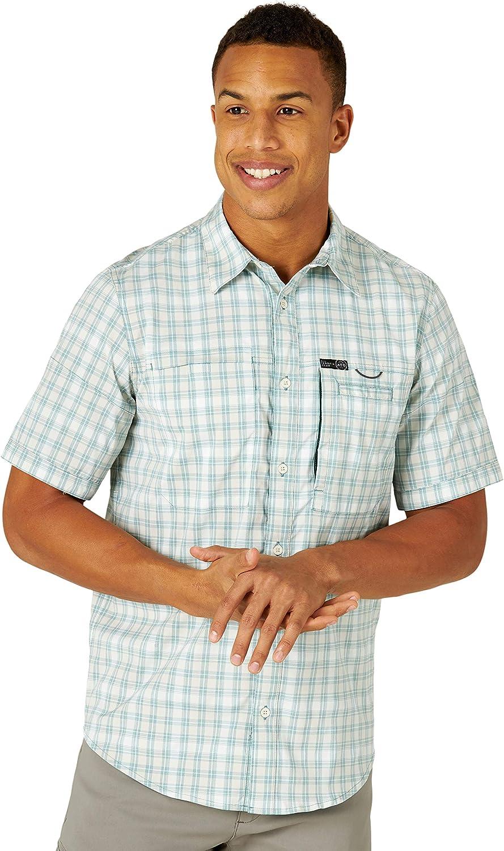 ATG online shop by Wrangler Men's Short Shirt Sleeve to Fish Phoenix Mall Hike
