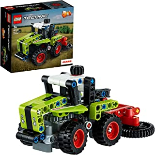 LEGO Technic 42102 Mini Claas Xerion Building Kit (130 Pieces)