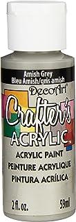 DecoArt Acrylic Paint, Amish Grey, 59ml