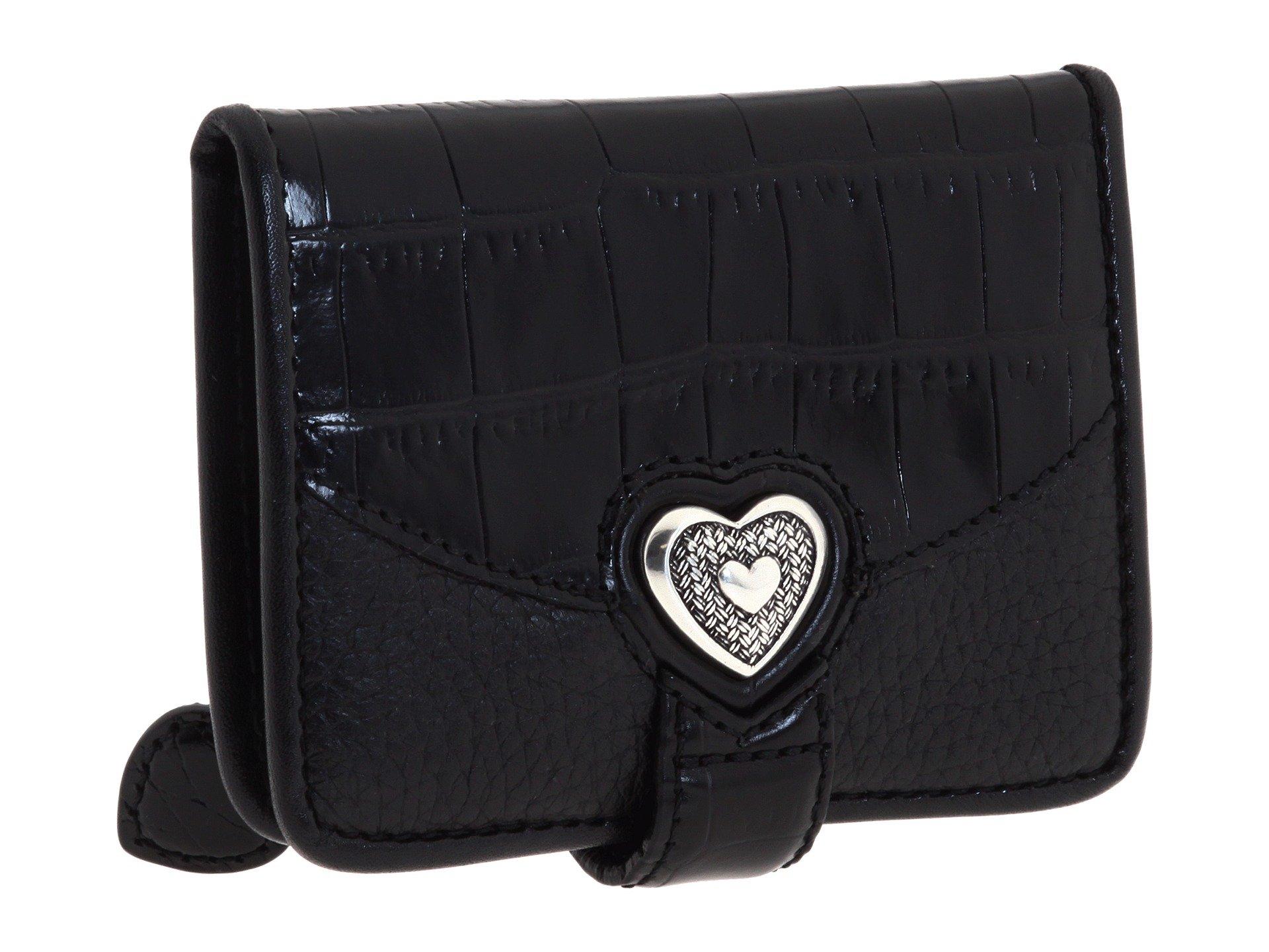 Brighton Wallet Heart Black Small Bellisimo zwxq8Yrq10