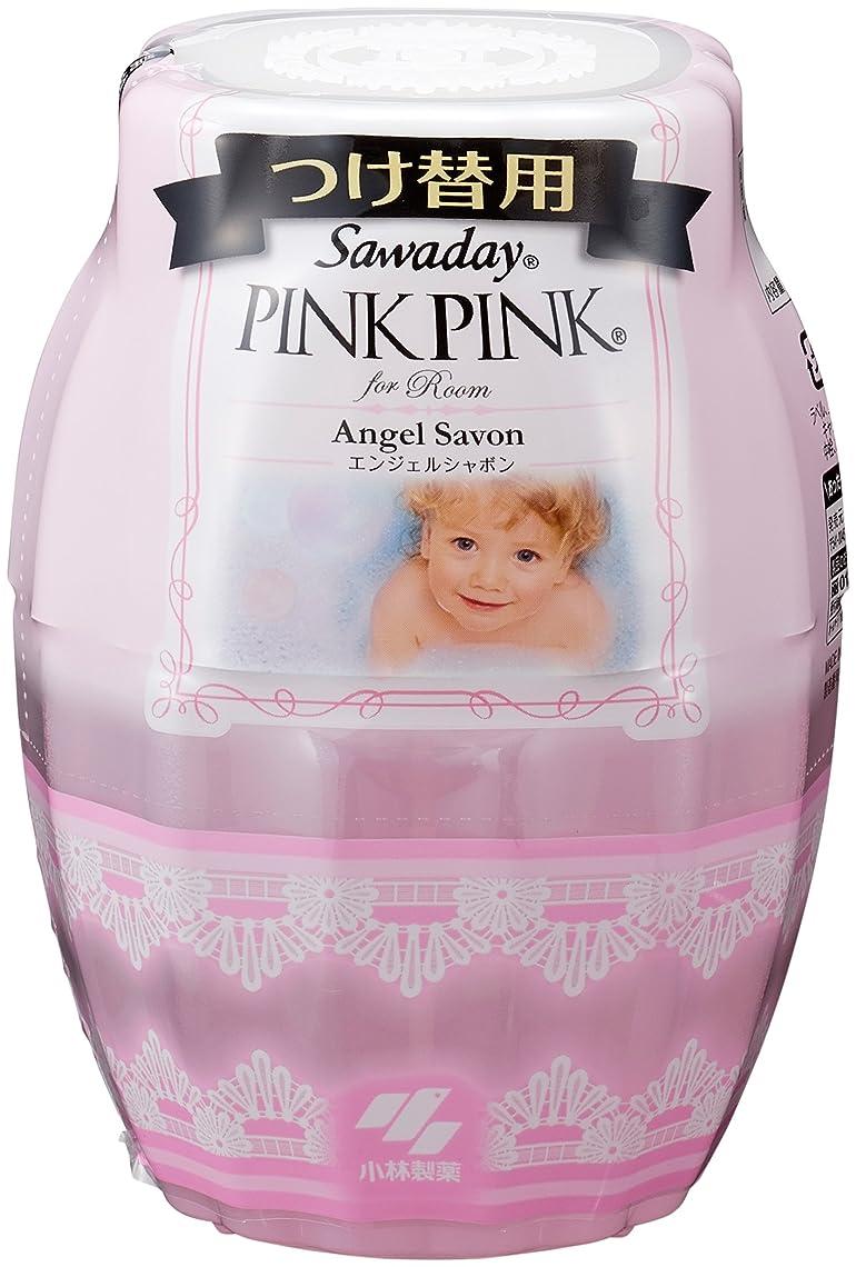 サワデーピンクピンク 消臭芳香剤 部屋用 詰め替え用 エンジェルシャボン 250ml