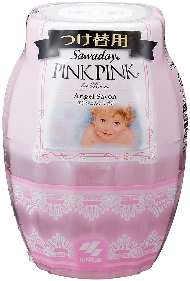 性格葉を拾う汚すサワデーピンクピンク 消臭芳香剤 部屋用 詰め替え用 エンジェルシャボン 250ml
