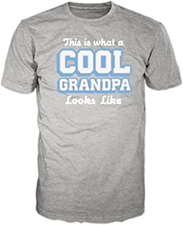 This is What a Cool Grandpa Looks Like Grandfather Gifts for Dad Father's Day Grandpa T-Shirt