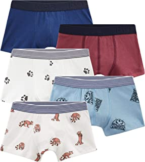 5 Pack Boys Boxers Sizes 3-12 Style 49923 in Gift Box