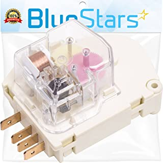 Ultra Durable 215846602 Refrigerator Defrost Timer Replacement Part by Blue Stars- Exact Fit For Frigidaire & Kenmore Refrigerators - Replaces 215846606 240371001 241621501 AP2111929 PS423801