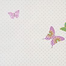 Caselio 62014020 Papel pintado con edificios de aire franc/és en tonos rosas y grises
