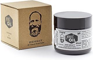 Beyer's Oil Balsam do pielęgnacji brody Beard Balm 60 ml – ręcznie wykonany w Bawarii – 100% naturalny – z woskiem pszczel...