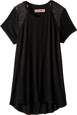 Blank NYC Kids - T-Shirt in Back in Black (Big Kids)