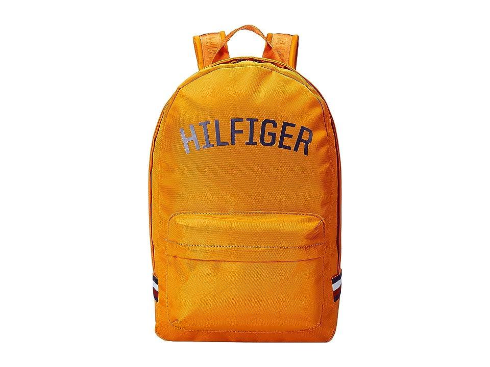 Tommy Hilfiger Zachary Cordura Nylon Backpack (Orange Pepper) Backpack Bags