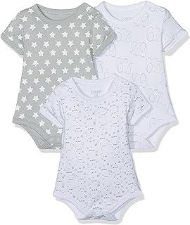 Care Body Bebé-Niños, pack de 3, Multicolor (Light Grey 142), 50
