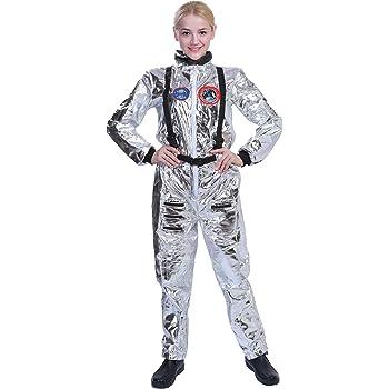 EraSpooky Astronaut Damen Spaceman Kostüm Halloween