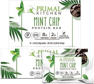 Primal Kitchen Mint Chip Protein Bar, Keto Certified, 8G of Protein