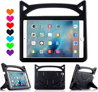 Lmaytech iPad 9.7 2018 & 2017 Release/iPad Air Case, Light Weight Shock Proof Handle Stand Case Cover Kids Friendly for Apple iPad 9.7