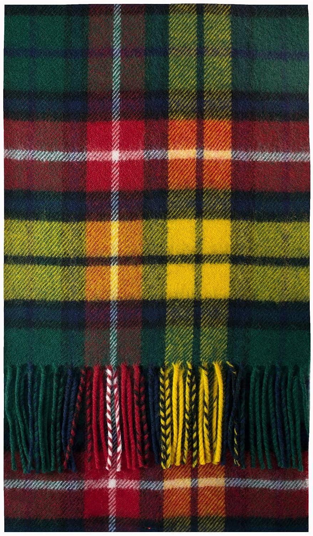 Buchanan Modern Tartan Scarf Brushwool Luxury OFFicial mail order 25% OFF