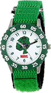 Marvel Boys' Hulk Green Time Teacher Watch