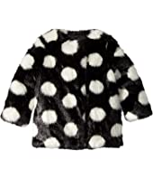 Kate Spade New York Kids - Polka Dot Faux Fur Coat (Toddler/Little Kids)
